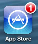 how to update an app on the iphone 5