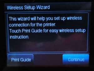 connect the officejet 6700 to a wireless network
