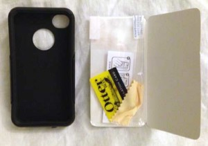 contents of the otterbox commuter package