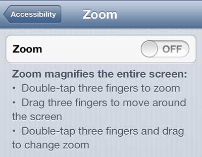 How To Unlock A Zoomed Iphone 5 Screen Solve Your Tech
