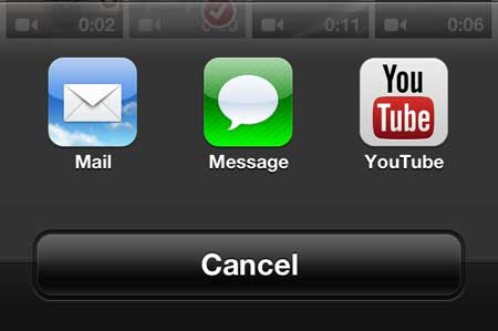 how to upload to youtube from the iphone 5