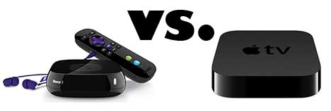 roku 3 vs apple tv
