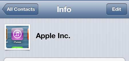 how to edit a contact phone number on the iphone 5