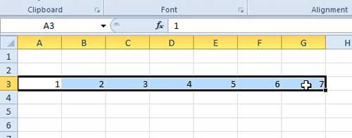 select the cells that you want to add together
