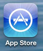 open the iphone 5 app store