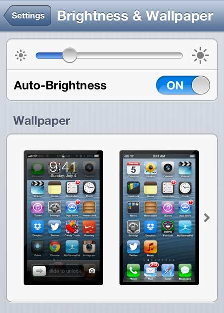 How To Change The Background On Your Iphone 5 Solve Your Tech