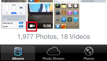 how to watch a recorded video on the iphone 5