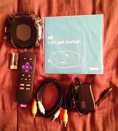 contents of the roku 1 box