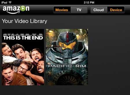 how to delete an amazon instant movie from the ipad app