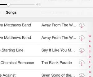 how to stop showing music in the cloud in ios 7 on the ipad 2