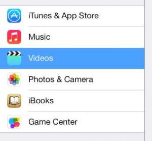 how to show purchased tv show episodes on the ipad 2 in ios 7
