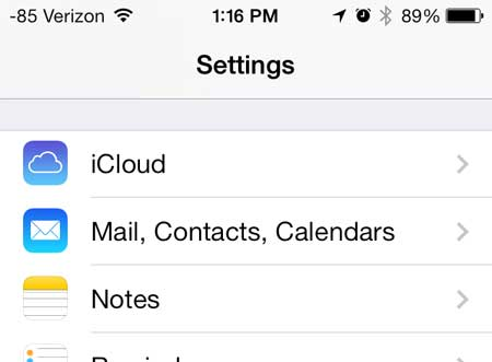 How to change your email password on your iPad