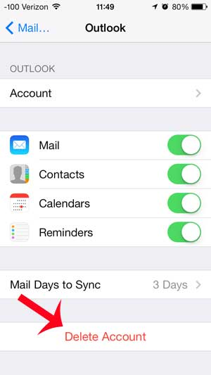 How to delete all mail on iphone ios 7
