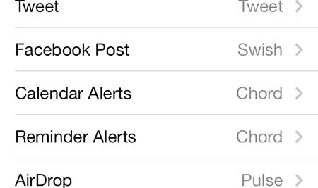 how to disable calendar alert sounds on the iphone 5