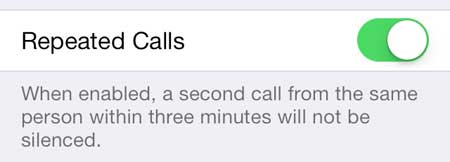 choose whether to allow repeated calls or not