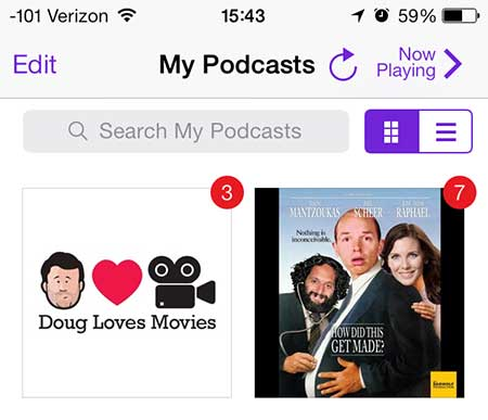 select a podcast