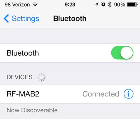 how to sync bluetooth headphones with an iphone