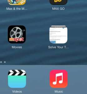 add a link to a web page to the ipad home screen