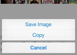 how to download a picture to the iphone