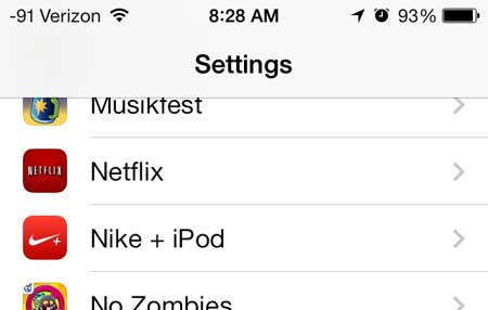 Restrict Netflix to Wi-Fi in iOS 7 on the iPhone - Solve