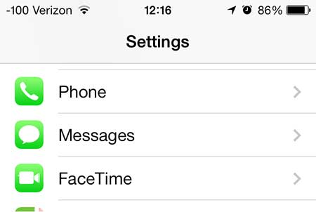 how to turn on read receipts for messages on the iphone 5