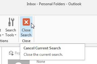 how to delete the unread messages in outlook