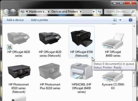 double-click the hp officejet 6700 icon