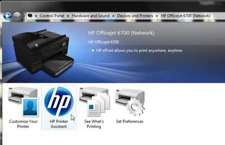 How To Check Ink Levels On The HP Officejet 6700
