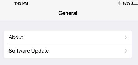 do I have ios 6 or ios 7 on my ipad