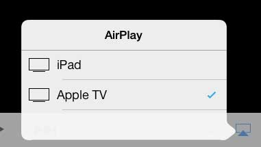 how to watch a video from your ipad on your tv