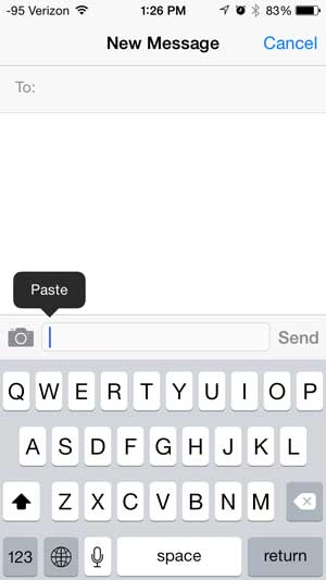 How to Copy and Paste on the iPhone 5 - Solve Your Tech
