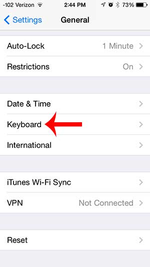 how to turn off automatic capitalization on the iphone 5