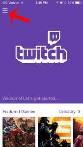 how to watch twitch videos on an iphone