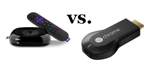 roku 1 vs google chromecast