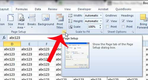a simple guide to better printing in excel 2010