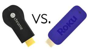 google chromecast vs. roku streaming stick 3500r