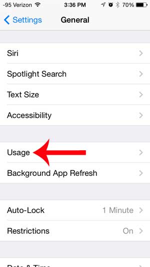 how much free space is left on my iphone
