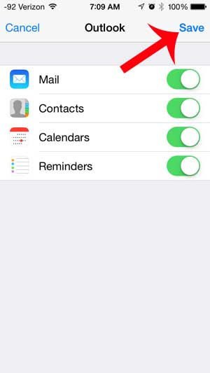 how to set up a hotmail email account on an iphone 5