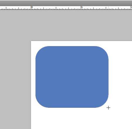 how to draw a rounded rectangle in photoshop cs5
