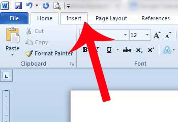 how to delete a blank page in word 2010