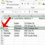 how to insert a new row in Excel 2013