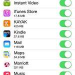 how to check cellular data usage for apps on the iphone 5