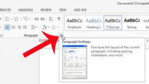 how to turn off double spacing in word 2013