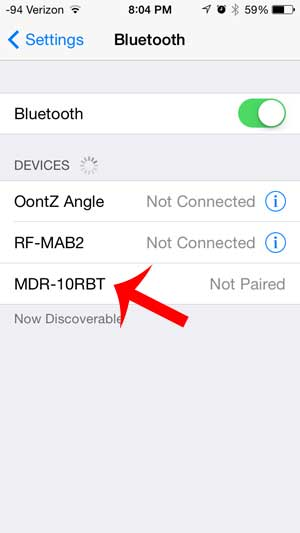 How To Connect The Sony Mdr10rbt Headphones To An Iphone Solve Your Tech