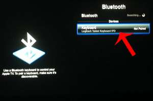 How to Use a Logitech Bluetooth Keyboard with the Apple TV