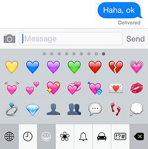 text message emojis
