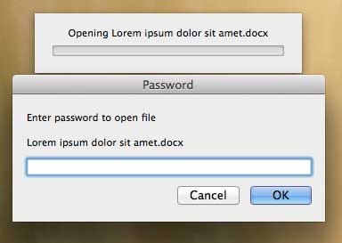 example of the password prompt for word for mac 2011