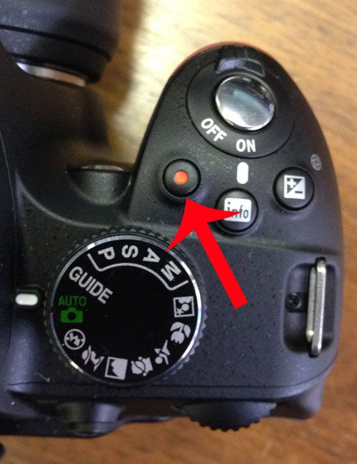 How to Record Video With the Nikon D3200 - Solve Your Tech