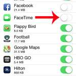 facetime cellular data is turned off