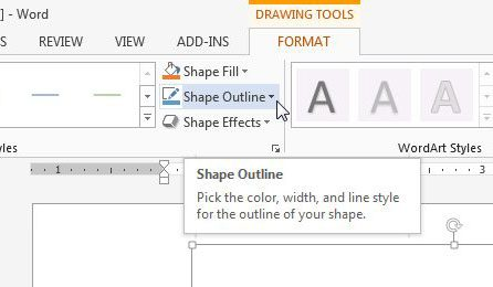 How to Draw in Microsoft Word 2013 - Solve Your Tech